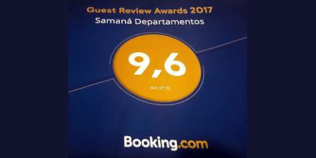 Excelentes críticas para Samaná Departamentos en Booking