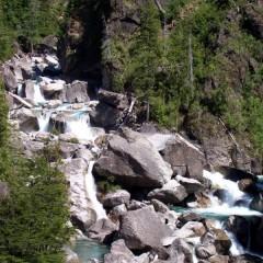 Saltos del Río Motoco - Lago Puelo