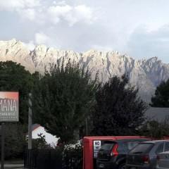 Vistas al Cerro Piltriquitrón desde SAMANÁ