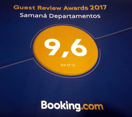 Excelentes críticas en Booking para Samaná Departamentos