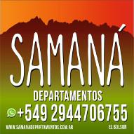SAMANÁ – Departamentos de Alquiler en el centro de El Bolsón